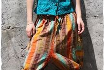 Summer trousers / Beautiful cotton trousers made in Guatemala for spring-summer outfit.