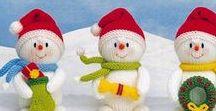 Christmas crochet -  verbal description