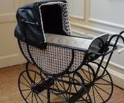 Technology V - carousel, baby carriage
