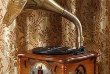 Technology VI - music box, gramophone,