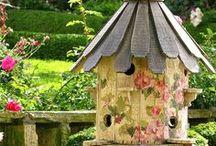 Beautiful - birdhouse, feeder
