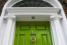 Doors & Door numbers / Fabulous doors modern and traditional :)