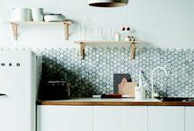 Home sweet home kitchen/diningroom / by Erika Blaauw