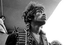 Jimi / Jimi Hendrix has always been my idol. Shining light, mystic spirit.