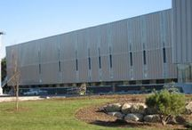 Queens Place Emera Recreation Center / Location:  Liverpool, NS Product: CPI Daylighting Architect: WHW Architects
