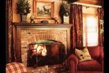 Welcoming, warming rooms & beautiful details / Inspiration for the home
