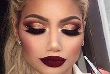 Make. / Maquiagem, beleza, produtos de beleza.