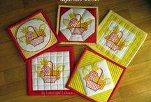 Potholder - Luvas - Porta tartes