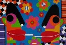 KLEURRIJKE KUNST / Kleurrijke schilderijen
