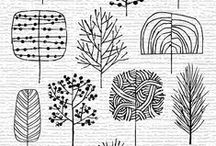 Patterns et illustrations