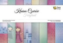 Kraina Czarów/ Fairyland / papiery do scrapbookingu/ scrapbooking paper collection