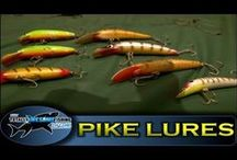 Northern PIKE Lures / Here are some lures that work great for our northern pike on Wawang Lake