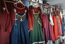 Sewing / viking /re-enactment viking / Re-enactment, making costumes viking era, and som random sewing and viking-craft