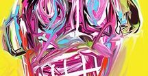 Art Prints / Contemporary art prints for the modern home by Sam Freek