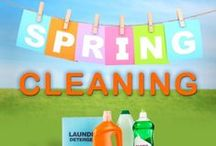 Spring Cleaning / Tips on how to achieve your Spring cleaning goals.