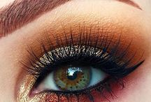 Eye Catchers - Makeup / Gorgeous eye makeup. These are great ideas for dancers, stage performances, actors, parties, special events & evenings out.