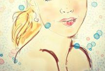 My work! / więcej na illustranja.blogspot.com  Kobiece ilustracje i ciekawe inspiracje!