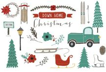 Christmas illustration idea