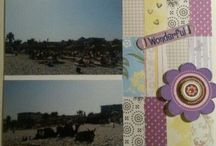 Scrapbook / Like to scrap, create beautiful pages in an album with great memories