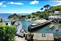 Around Polperro, Cornwall / Down the lane, we turn left, then right, for Looe and Polperro.
