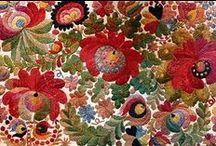 Flowers in Needlework