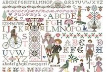 A Mon Ami Pierre Cross Stitch Sampler Charts / As you will know, 'A Mon Ami Pierre' closed at the end of March 2014.  So our remaining stock of these wonderful chart packs is limited.  If you would like to buy one, please contact us via www.riverdrifthouse.co.uk (or if showing as an ebay pin, it may still be available there).