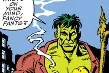 Comic panels & covers