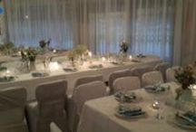 Wedding Decor and Flowers by Sandi G / Ally's Wedding -  Handmade by Sandi G muzzys.creations@gmail.com