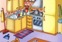 otthon/család