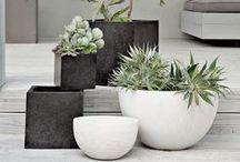 Ruukkuideoita | Planters and Pots / Ruukkuja monissa eri väreissä, muodoissa ja koossa löydät myös verkkokaupastani: PuksipuuShop.fi Find Fresh Inspiring Ways to Plant Your Planters and Garden Pots!