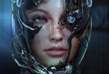 Cyberpunk and Futuristic - the Dark Side of Tech / All things cybernetic and futuristic