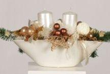X-mas'14 / Świąteczne ozdoby i dekoracje na Boże Narodzenie 2014 - wianki na drzwi, wianki adwentowe, kompozycje z roslin doniczkowych, kompozycje ze swiecami, drzewka bozonarodzeniowe i wiele wiele innych pomyslow na dekoracje domu w okresie swiat dla was i na prezenty dla najblizszych