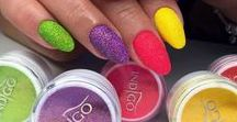 Neon nails / Bright & Wild Nails ! Neon look from Indigo ;) Check it out ;)