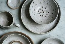 Ceramics in the kitchen / Ceramics inspiration for the kitchen and the table <3