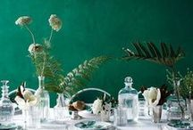 Setting the table / Ideas and inspiration for setting a beautiful table at home, for an event or even a wedding