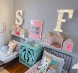 SHARED SPACES / Childrens Rooms I Siblings I Twins I Shared Bedroom I Kids Rooms. Ideas and inspiration for shared rooms for new babies and children.