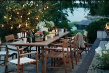 Valonauhoja puutarhassa | Light sets - party time! / Valonauhoilla luot tunnelmaa puutarhaan ja terassille - juhlaan tai  arki-illan piristykseksi! Ihanaa kepeyttä ja valoa alkaviin iltahämäriin. Helppo ripustaa! Nyt löydät valitsemani mallit myös PuksipuuShopista!