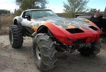 Monster & Bigfoot & Truck