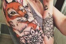 A r t e / Pinturas, ilustraciones, gente y tatuajes