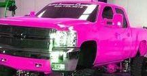 Purple & Pink Cars