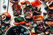 Summer Grilling and BBQ / summer, grilling, bbq, cook out, healthy, meat, chicken, fish, vegetables, clean eating, recipes, picnic, camping, barbeque, charcoal, steak, cooking