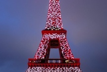 Eiffel / Various viewpoints of the Eiffel Tower  / by Izabella Martens