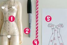 Sewing Patterns / Patterns from beginner to expert for sewing and crafting.  / by AshGUTZ