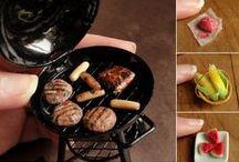 Miniature food / Miniature foods for dolls, jewelry, etc.