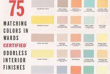 Color palettes / Color palettes, schemes, theory, etc.