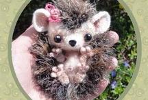Amigurumi  and  Small crochet toys / by Jessie Craigmiles