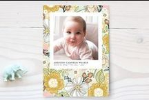 Baby  ||  Birth Announcements / Adorable birth announcements to announce your little one.