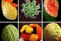 Carving and play with food