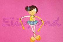 Elily&Punteras / Para Gimnastas rítmicas  http://elilyland.blogspot.com.es (c) Todos los derechos