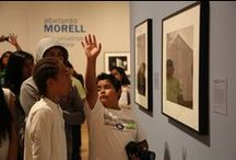 Community Photoworks / Community Photoworks is an initiative of the J. Paul Getty Museum's Education Department designed to connect students with leading contemporary artists to collaboratively explore the medium of photography.   In 2013, students from Mark Twain Middle School worked with photographer Abelardo Morell. This board documents portions of the process. Learn more at: http://bit.ly/1pMoXsh  All images courtesy of the J. Paul Getty Trust. / by Getty Museum Education Archive